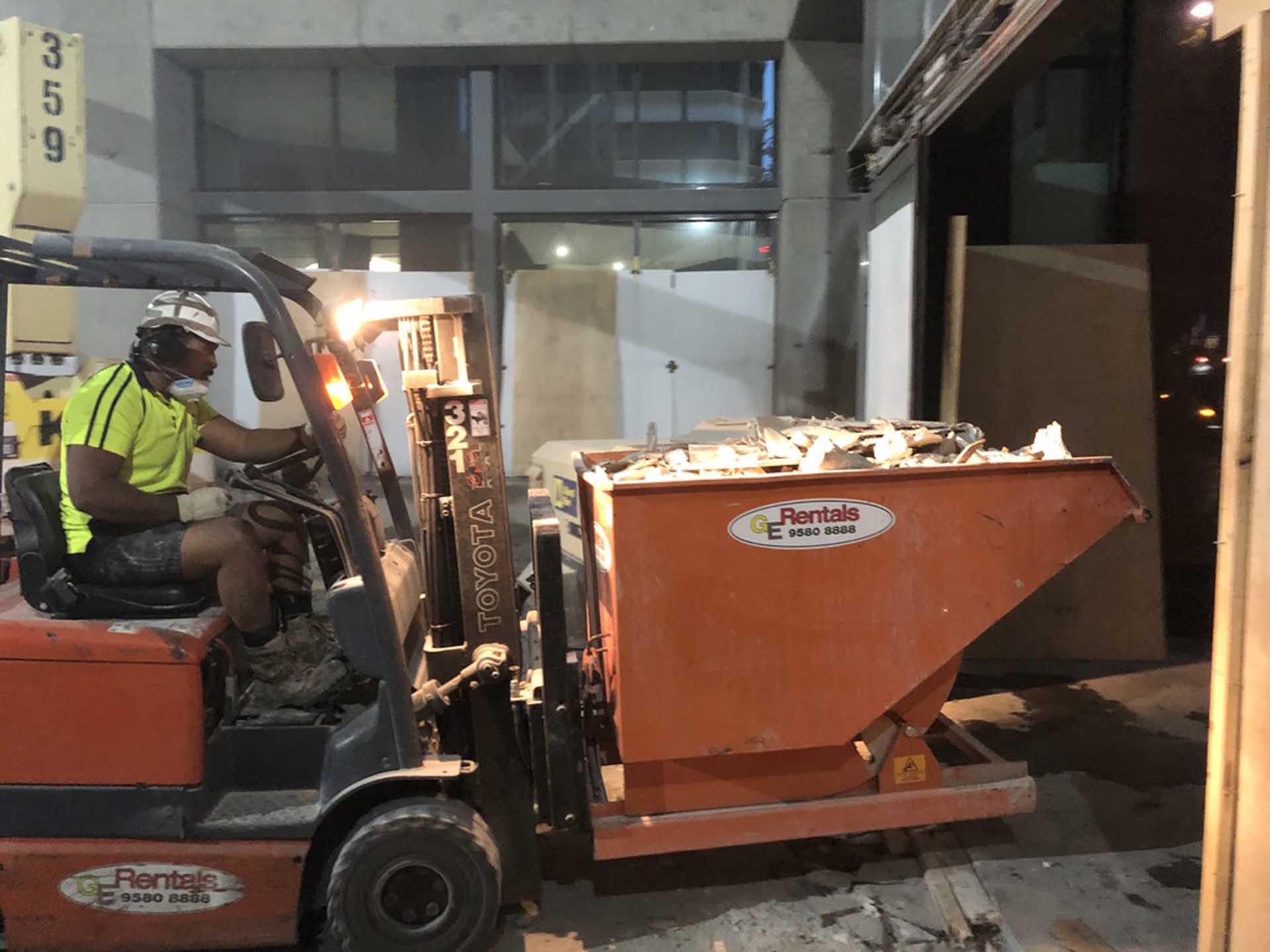 Bourke St Melbourne commercial demolition